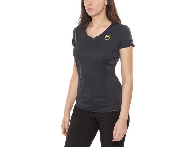 Karpos Moved Bluzka z krótkim rękawem Kobiety, dark grey
